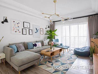 65平方二房一厅装修图,带给你舒适的家居环境