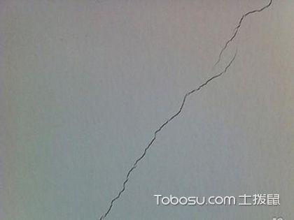 墙面为什么产生裂缝,墙面裂缝如何修复