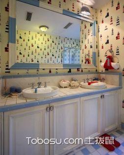 卫生间橱柜设计定做 卫生间橱柜搭配
