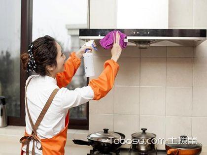 開放式的廚房如何進行清潔保養?