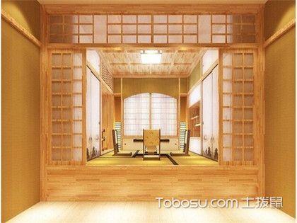 日式榻榻米房间效果图,日式榻榻米床设计