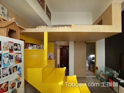 38平小户型装修案例,超小的跃层设计给你别墅的居住体验