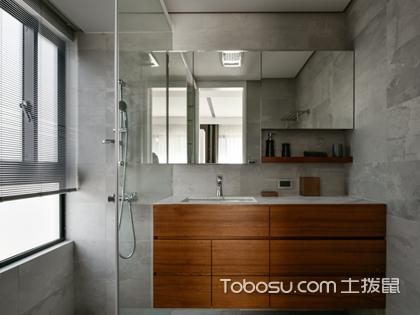 2018年小户型卫浴简单装修图片,简单一样装出高品质卫浴空间