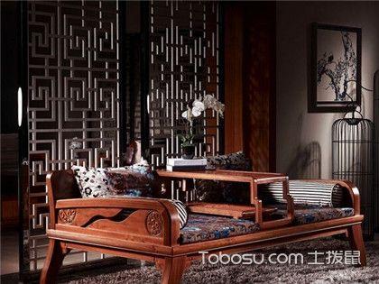 罗汉床如何搭配客厅以及客厅家具如何摆放