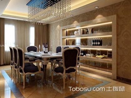 大户型家装餐厅墙纸怎么装修,餐厅墙纸装修知识
