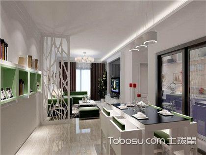 小户型客厅隔断设计方案解析,教你做好客厅空间分离