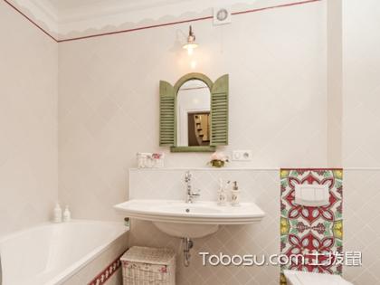卫生间挂镜子效果图,镜子的新装饰功能你get到了吗?