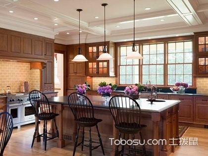 厨房中岛台尺寸,开放式厨房岛台适合多大的尺寸