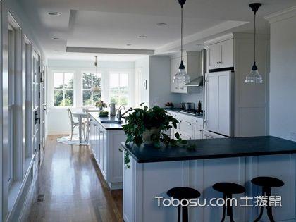 开放式厨房吧台设计注意什么,厨房吧台这样设计才美观实用