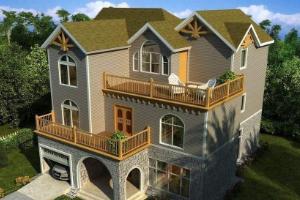 农村自建房设计风格图片