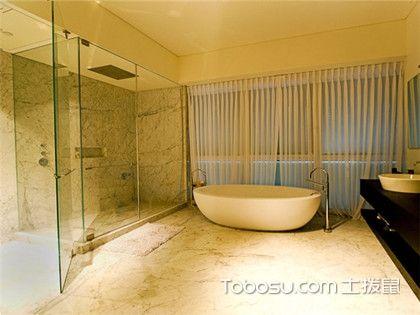 2018最新欧式别墅浴室装修效果图,特色浴室装修设计方案赏析