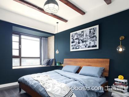 男士卧室装修设计案例,赏析男士卧室的淡雅与阳刚