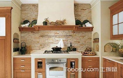 厨房田园乡村清新风格橱柜装修设计