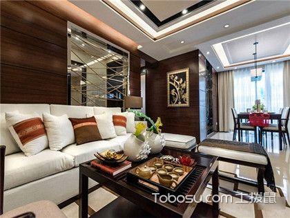 25万合肥三房两厅全包装修费用,135平新中式三居室装修案例