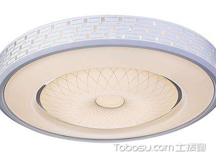 吸顶灯尺寸的选择,吸顶灯标准尺寸介绍