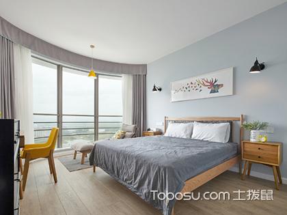 北欧风格小户型卧室装修,小平米演绎高品质北欧风