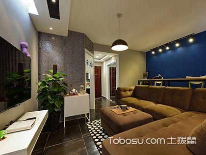 64平米二室一厅简装图,带给你慵懒与温馨的家居环境