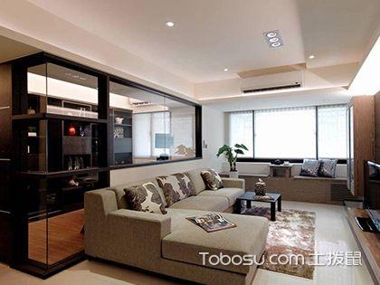 60平米二房一厅装修案例图,老屋翻新带给生活舒适的体验...