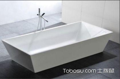 不同形状(方形/圆形等)浴缸尺寸及价格
