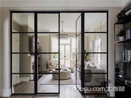 2018最新客厅玻璃隔断效果图,小户型客厅玻璃隔断设计