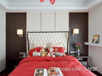 婚房卧室装修效果图,最新时尚婚房装修解读