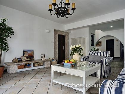 135平米地中海风格三居室,休闲浪漫的地中海家居环境...