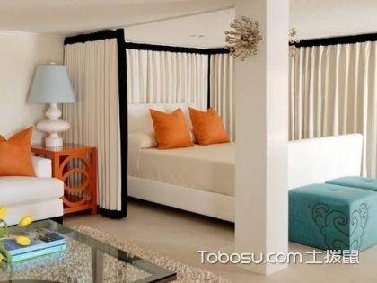 如何在客厅隔出一间卧室,客厅隔出卧室效果图