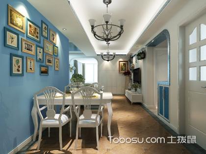 我的色彩我的样,蓝色系房屋装修打造别样空间