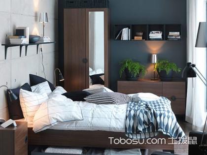 次卧装修效果图赏析,里面的设计技巧你都发现了吗?
