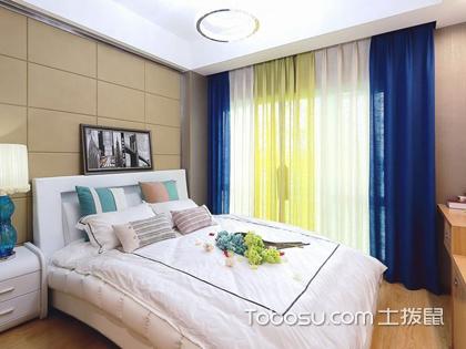 卧室窗帘2018新款图片,带你欣赏最时尚的卧室窗帘搭配