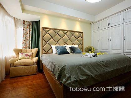 今年最流行美式卧室装修效果图,美式装修必看这4款卧室装修图