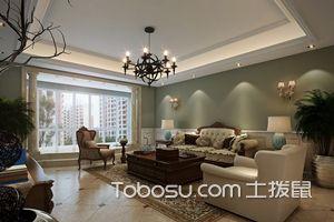 美式客厅吊顶