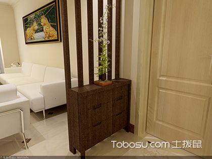 小户型客厅玄关装饰设计 客厅玄关设计效果图
