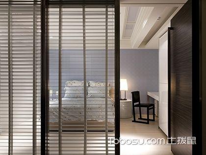 4种客厅与卧室隔断墙装修效果图