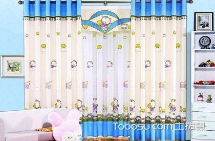 兒童房窗簾布藝的搭配技巧,兒童房窗簾布藝裝修案例