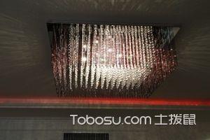 平板低压水晶灯