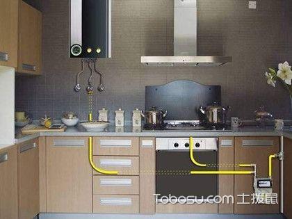 装修厨房天然气如何走线,厨房天然气走线的注意事项...