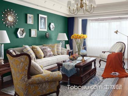 2018美式客厅布艺沙发摆放效果图,最新沙发时尚趋势等你来赏