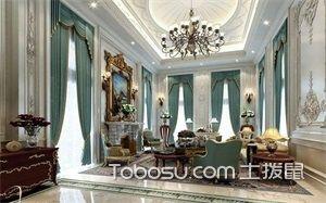 法式客厅图片