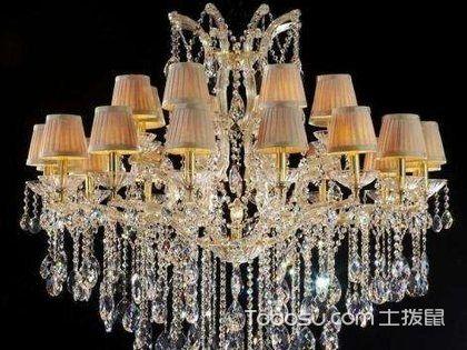 客厅水晶灯脏了怎么办?水晶灯怎么清洗