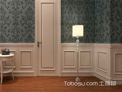 护墙板效果图,护墙板的种类设计详细介绍