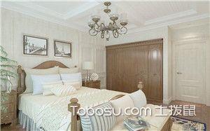 法式卧室装修效果图