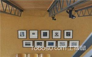 简约风格照片墙设计效果图