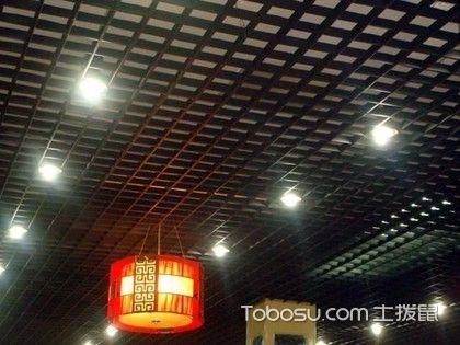 吊顶和灯具的完美结合:格栅吊顶如何安装吸顶灯