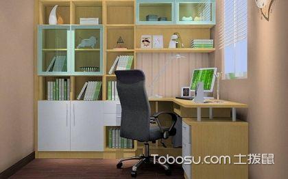 转角书桌书柜设计图?转角书桌书柜设计图案例