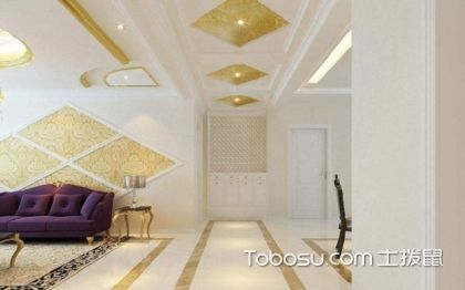 大户型走廊吊顶装修效果图,走廊吊顶装修设计