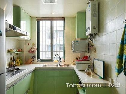 小户型厨房装修设计要点,整体橱柜的选择很重要