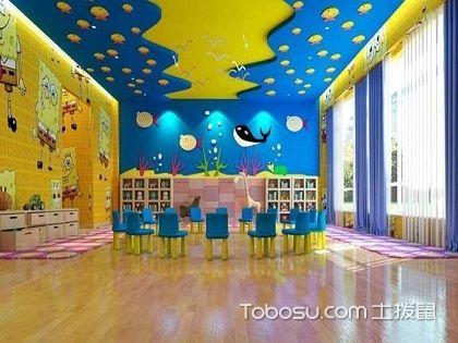 郑州幼儿园装修设计效果图,给儿童们美美的学习环境