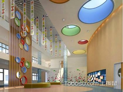 幼儿园装饰墙,幼儿园的无声教材
