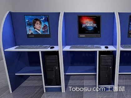网吧专用电脑桌详细介绍,让你玩转网吧装修!